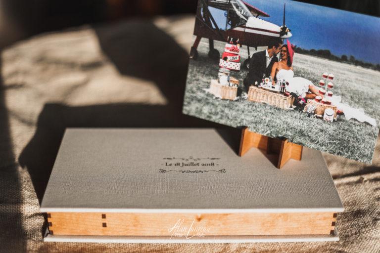 Tarifs, Tirages photo + coffret artisanal en bois et toile.