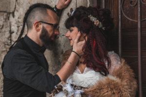 Séance couple, mariage alternatif