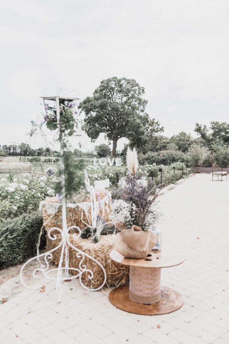 Décoration thème champêtre provençal